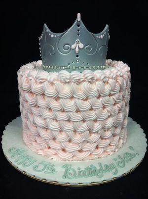 Princess Birthday Cake by Louises Cakes N Things Birmingham