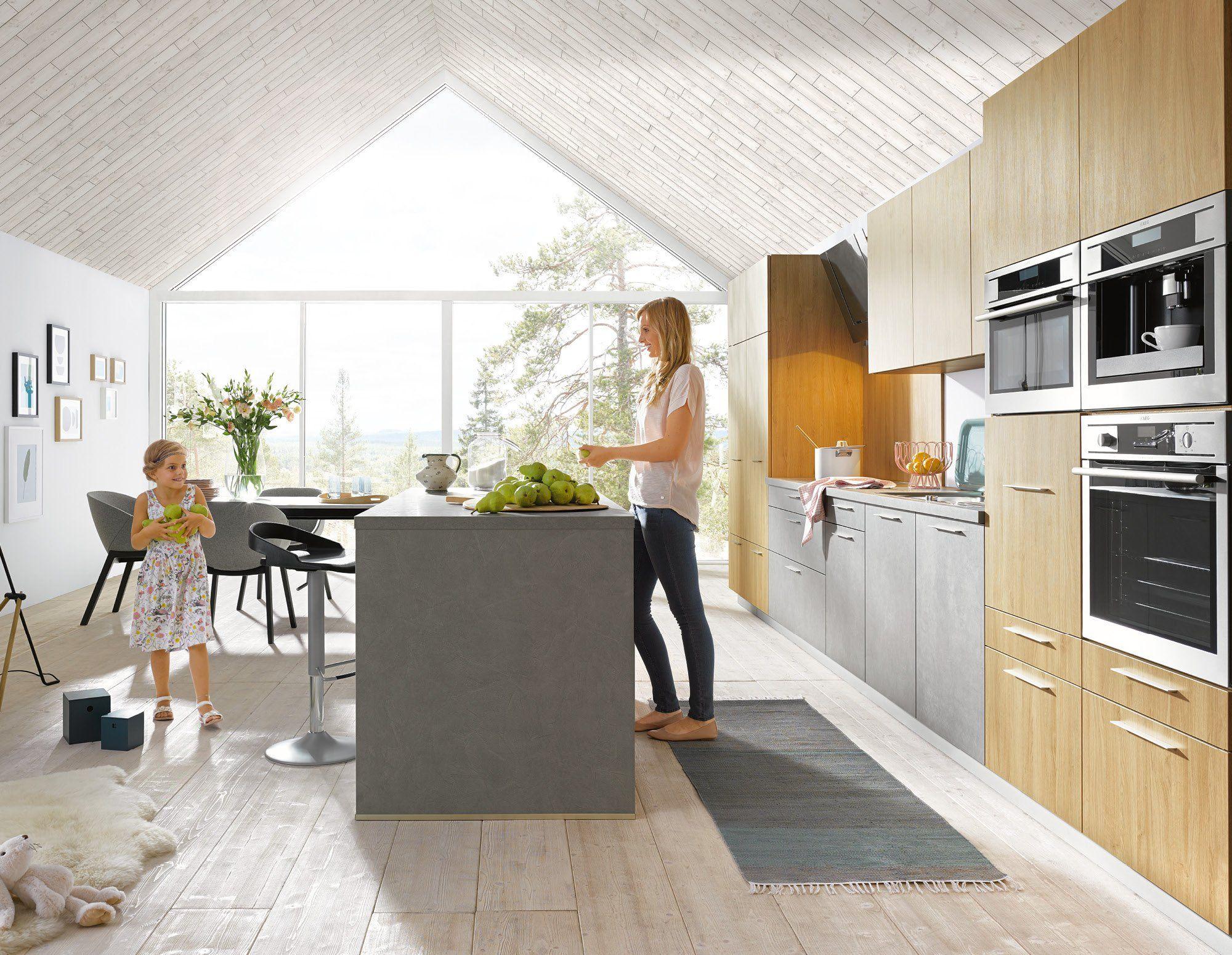 Lechner Küchen ~ Weiße küche mit keramikarbeitsplatte von lechner weiß matte