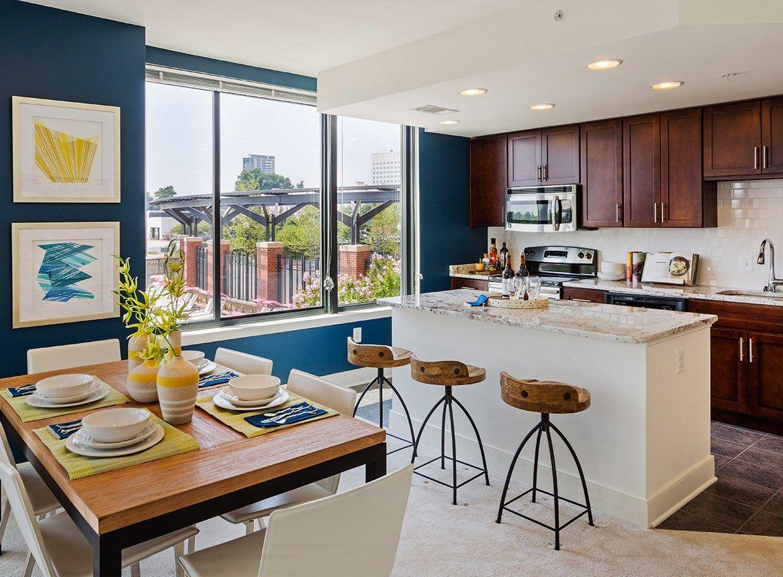 Photos And Video Of Aurora In North Bethesda Md Kitchen Decor Apartment Apartment Decorating Rental Rental Kitchen