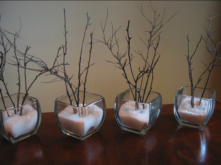 la decoración de mis mesas: Un centro de mesa invernal | decoracion ...