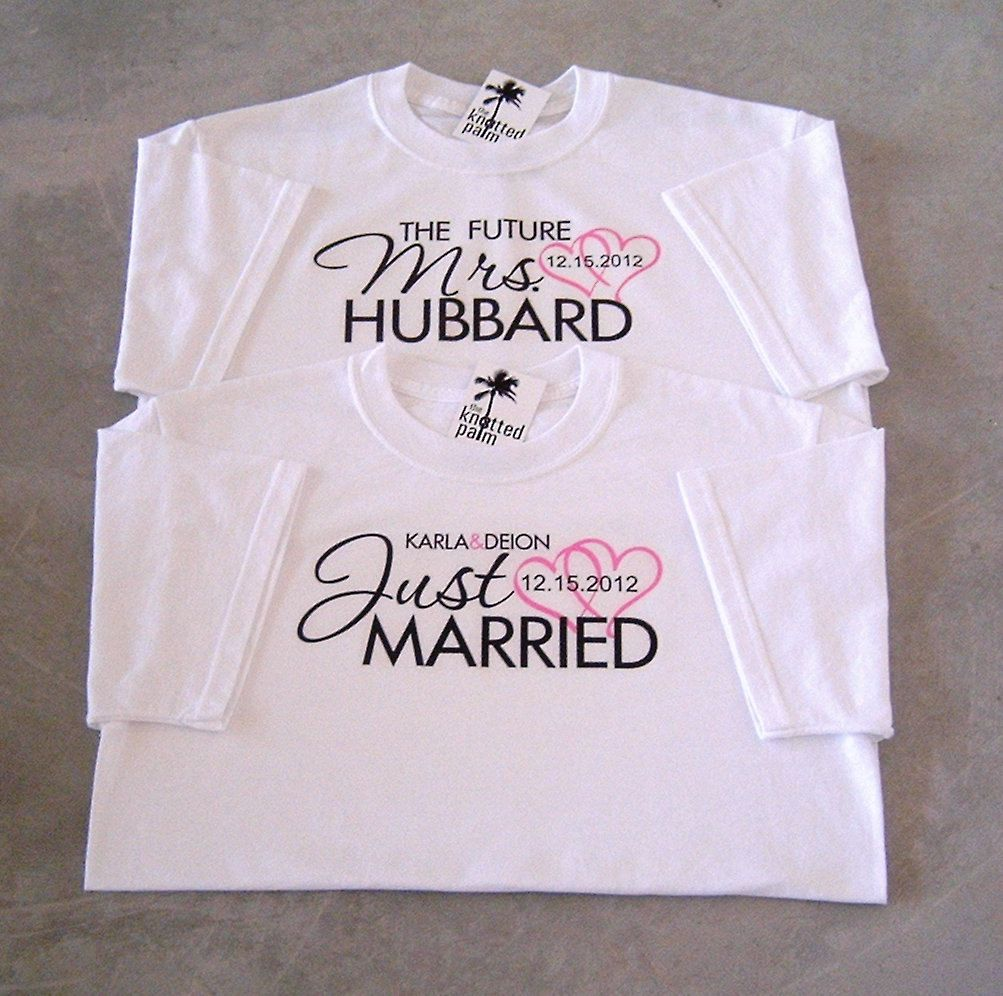 Cute Marriage Wedding Wife Newlyweds Honeymoon Taken Juniors T-shirt Mrs