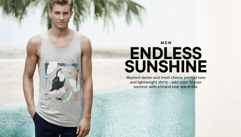 Benjamin Welcomes Summer with New H&M Wardrobe