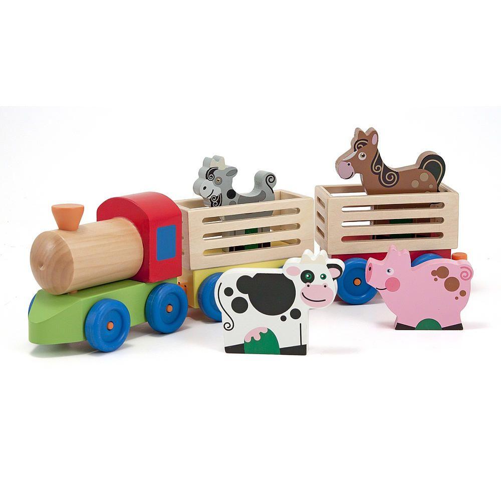 Melissa & Doug Farm Animal Train - Melissa & Doug - Toys \
