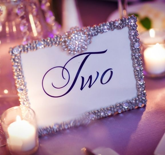 Table Numbers For Wedding Ideas diy bling table numbers but maybe spray paint with metallic paint cover with glitter Wedology By Dejanae Events I Found It You Pin It Framed Table Numberswedding