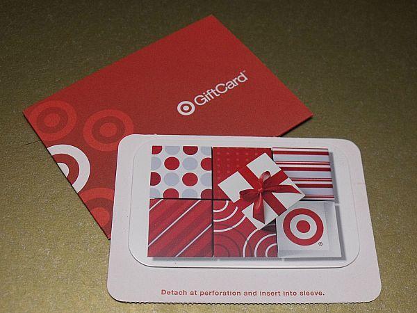 Target Gift Card Momsmakeupstash 2014 03