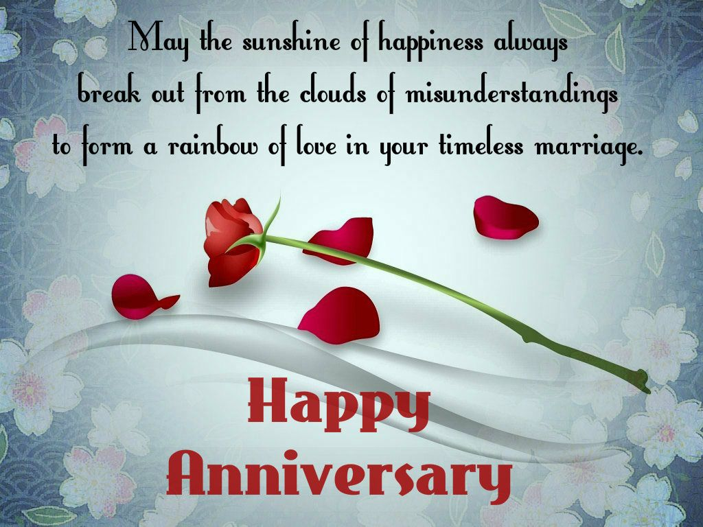 Happy Wedding Anniversary Greeting Cards Wishes Wedding