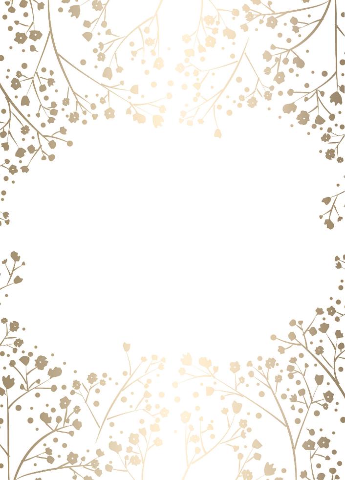 Baby S Breath Gold Foil White Wedding Label Zazzle Com In 2021 Babys Breath Wedding Labels Custom Address Labels