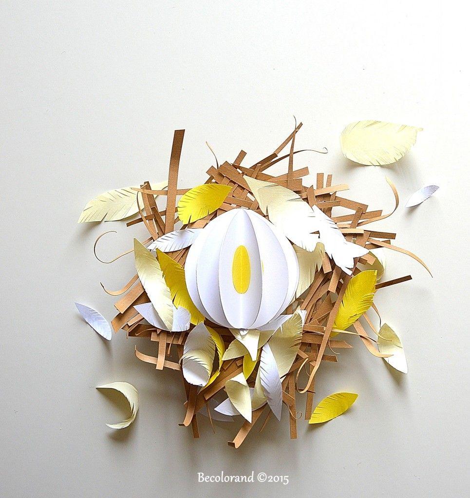 Egg Love #easteregg #paperart