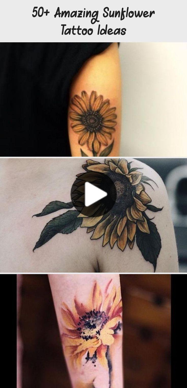 50+ Amazing Sunflower Tattoo Ideas - Tattoo