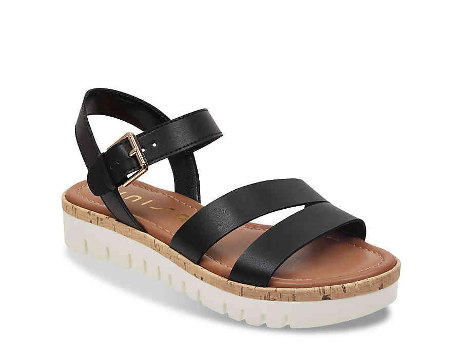 7a0dba2b4d0 Women Brok Platform Sandal -Gold Metallic in 2019 | Shoes ...