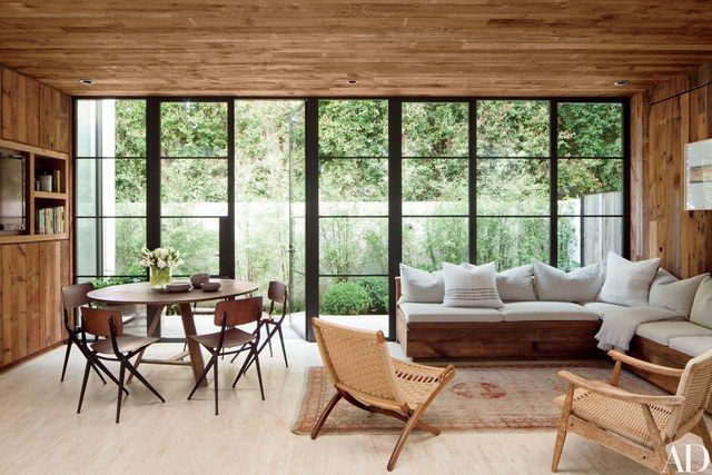 Fashion Designer Jenni Kayne S 1980s Residence In Beverly Hills Contemporary House Los Angeles Homes Celebrity Houses