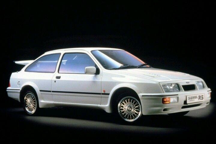 My Car In 1985 An 86 Merkur Xr4ti Silver Ford Sierra Ford Rs