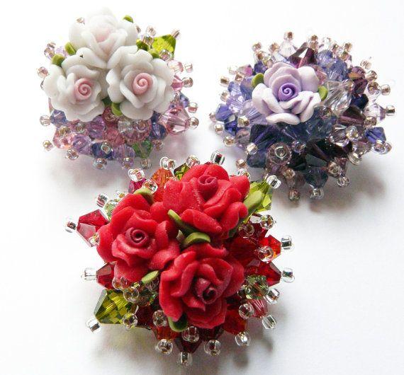 Bouquet brooch by VirtuallyVintagebyK on Etsy, £12.00