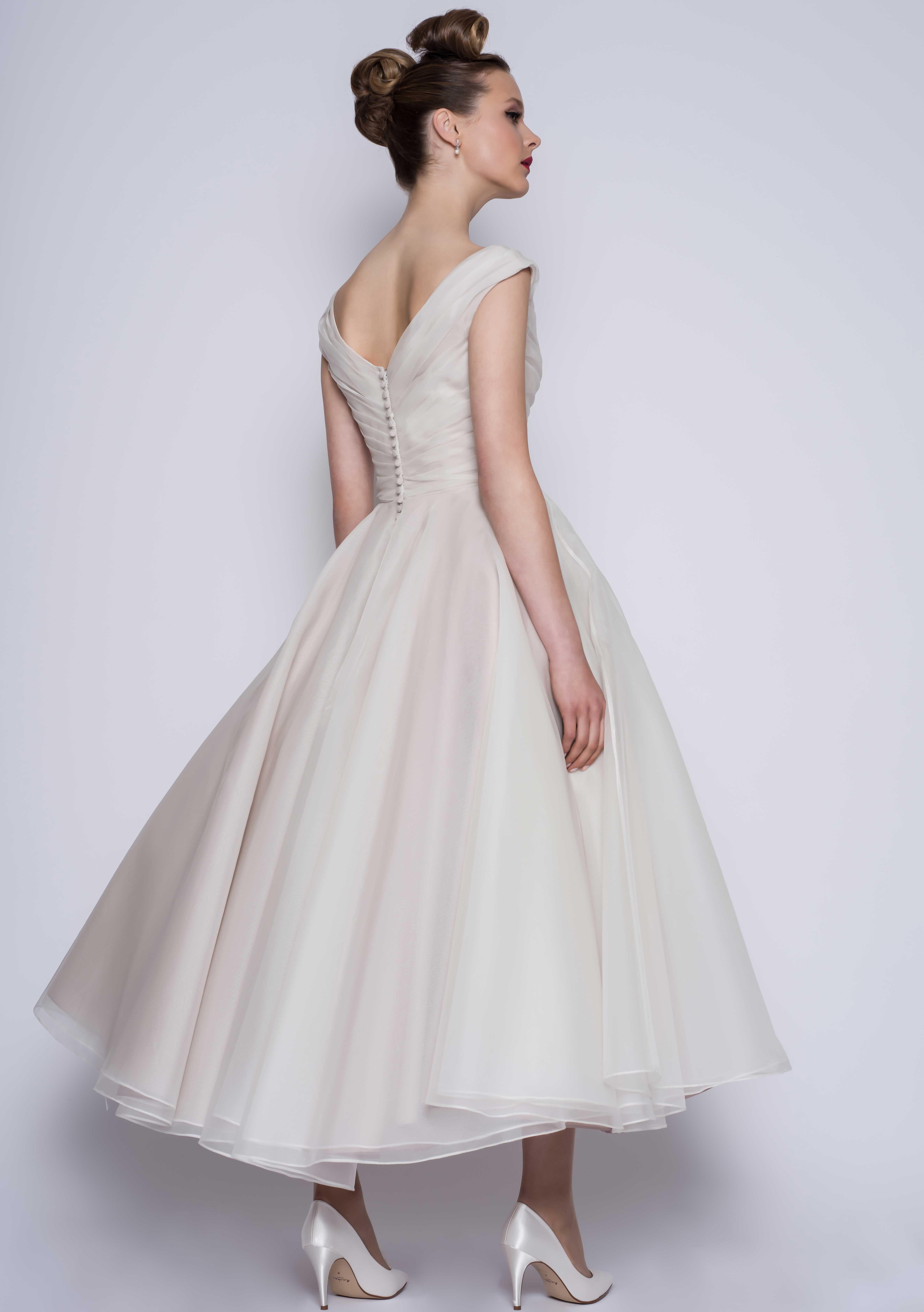 Amelie LouLou in 2020 Tea length wedding dress vintage