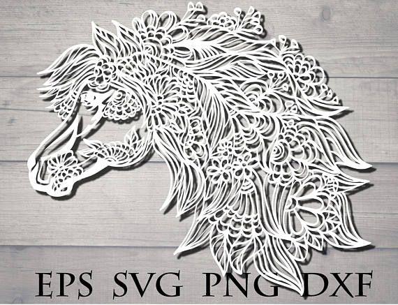 zentangle horse svg cricut cricut design cricut svg file