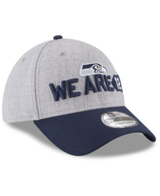 hot sale online 5e822 bed45 New Era Seattle Seahawks Draft 39THIRTY Cap - Gray M L