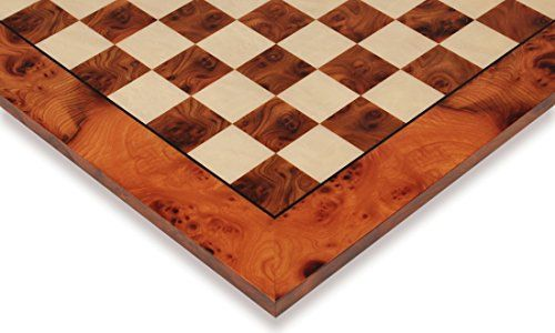 Elm Root  Maple Deluxe Chess Board  275 Squares * Details can be found by clicking on the image.