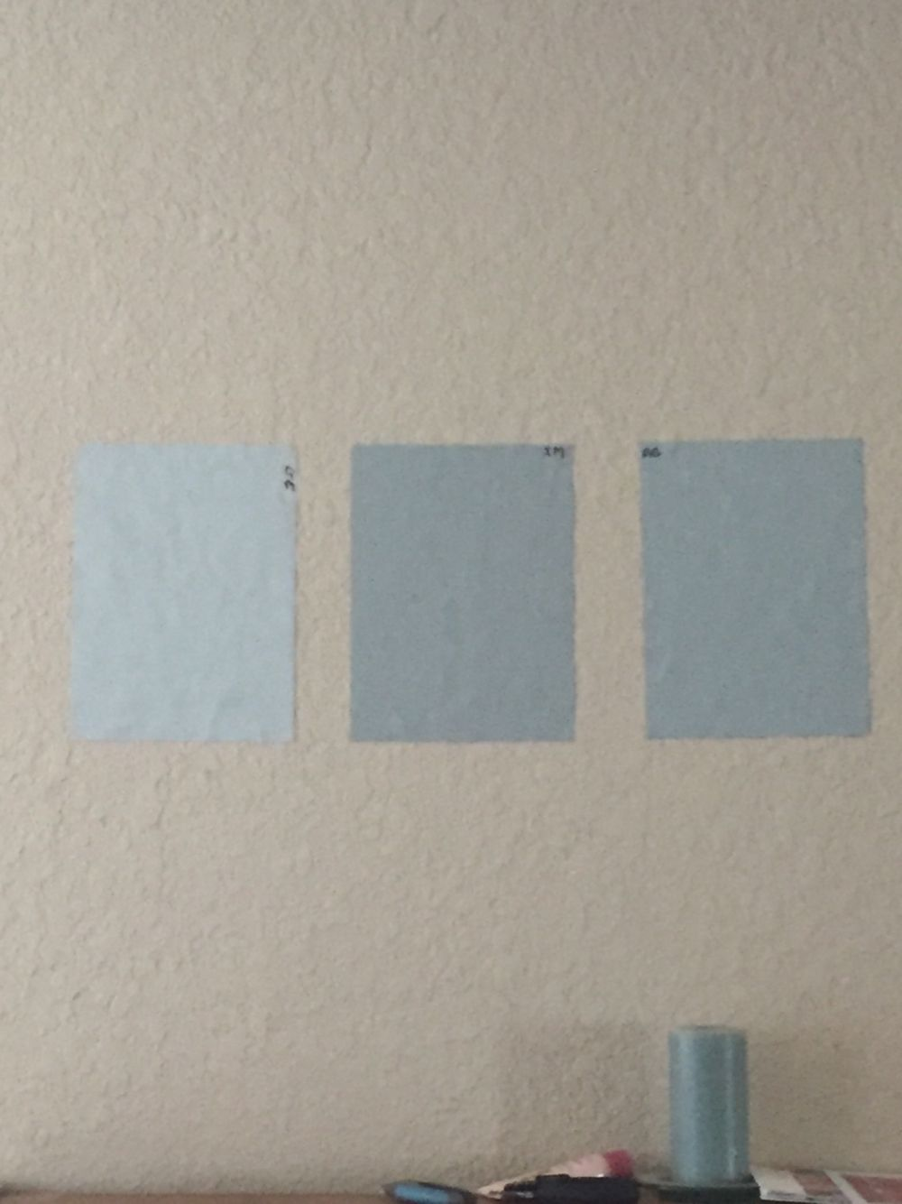 3 Benjamin Moore colors I\'m considering for the master bedroom. My ...