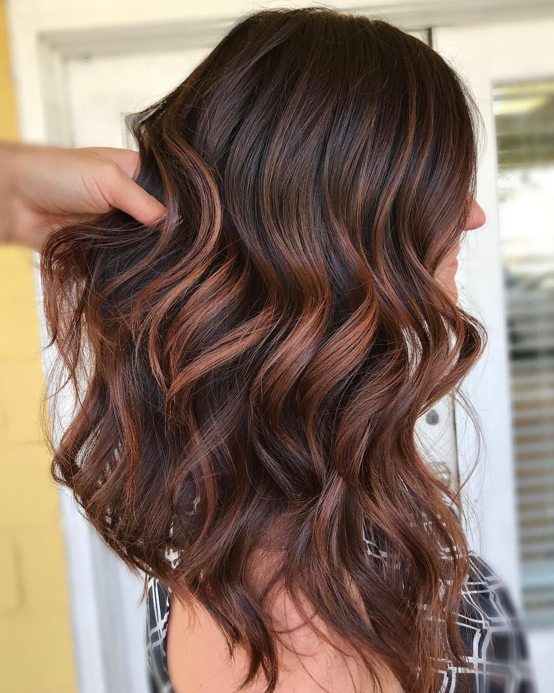 60 Hairstyles Featuring Dark Brown Hair With Highlights Brown Hair With Highlights Hair Highlights Dark Hair With Highlights