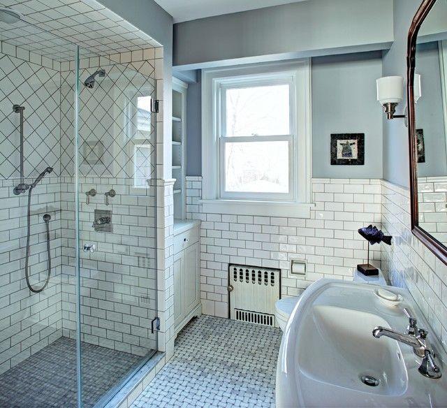 Classic White Bathroom Classic Bathroom Design Bathrooms Remodel Traditional Bathroom