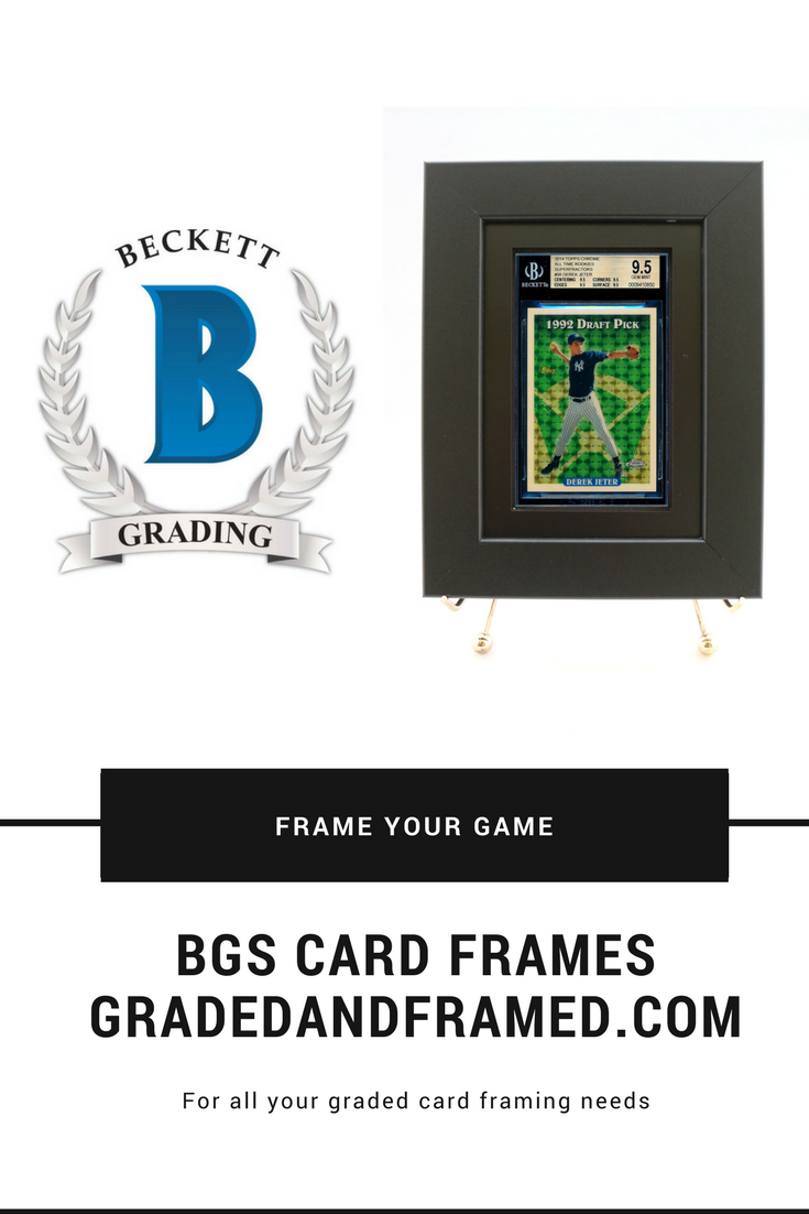 Sports card frames for your BGS (Beckett) graded cards now available ...