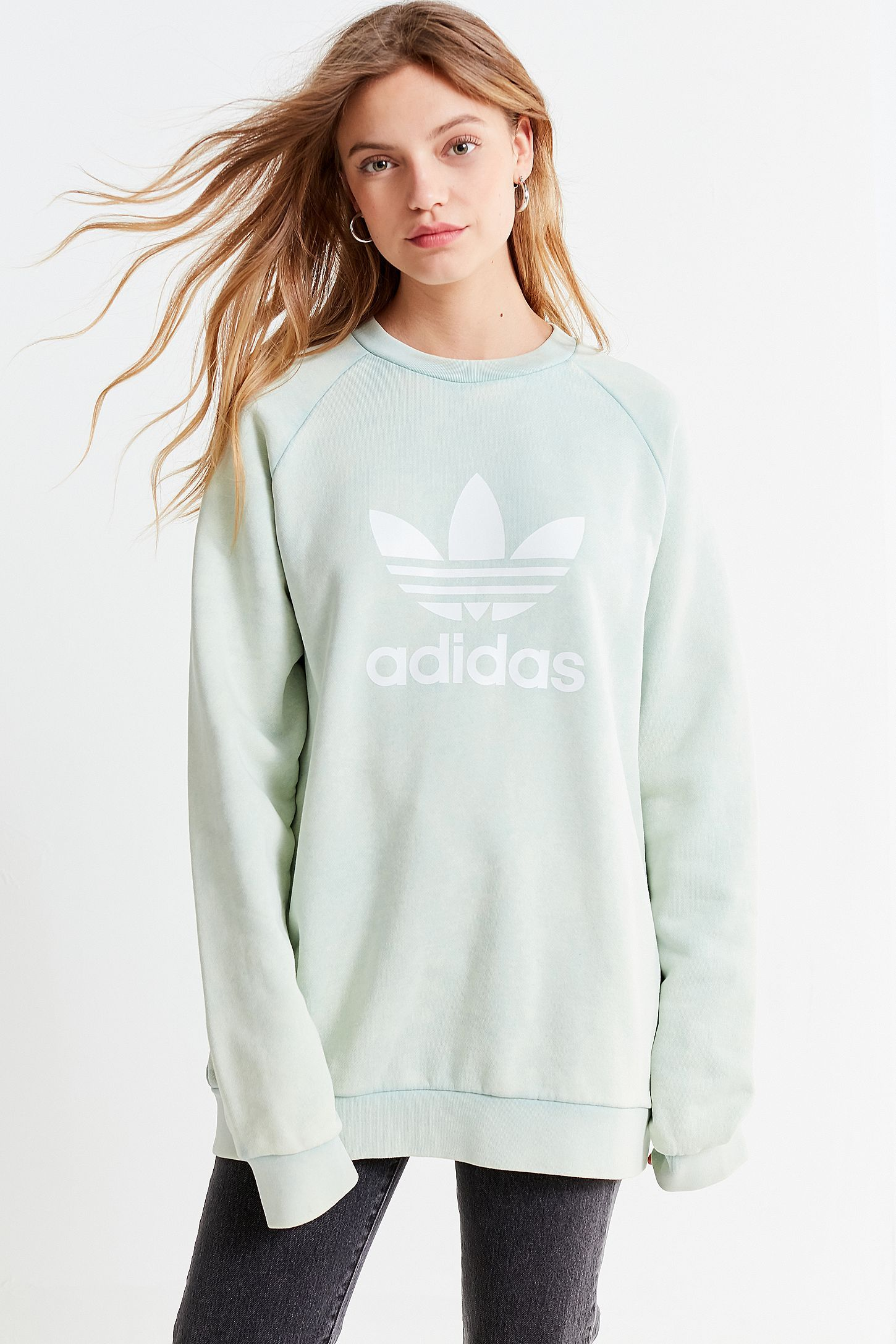 2ac71ae59ddd Slide View  6  adidas Originals Adicolor Trefoil Warm-Up Sweatshirt