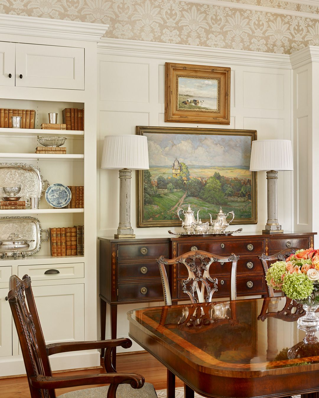 Pin by CountrySausage on Interiors | Dining room wall ...