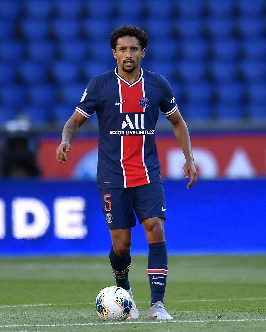 5 Marquinhos C In 2021 Psg Paris Saint Germain Football