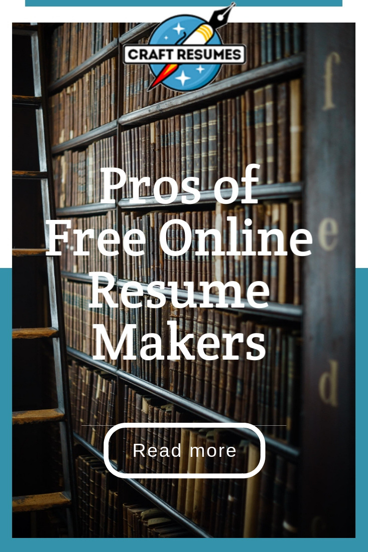 Read About Cons Of Free Online Resume Makers Professional
