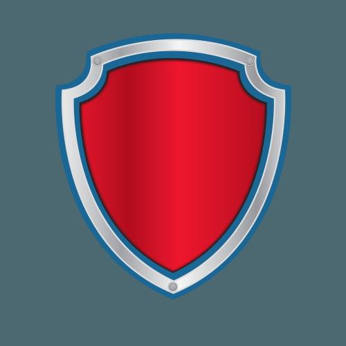letras y n u00fameros de paw patrol con logo para editar y Harley Bar and Shield Stencil Bar and Shield Template
