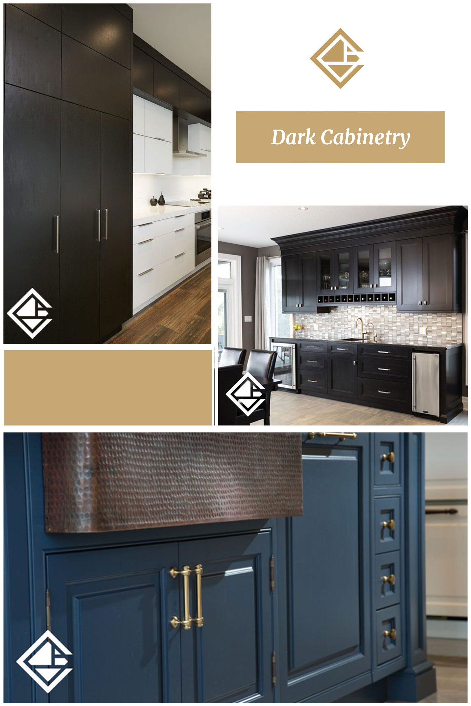 Dark Cabinetry Is So In Custom Kitchens Cabinetry Custom Kitchen Cabinets