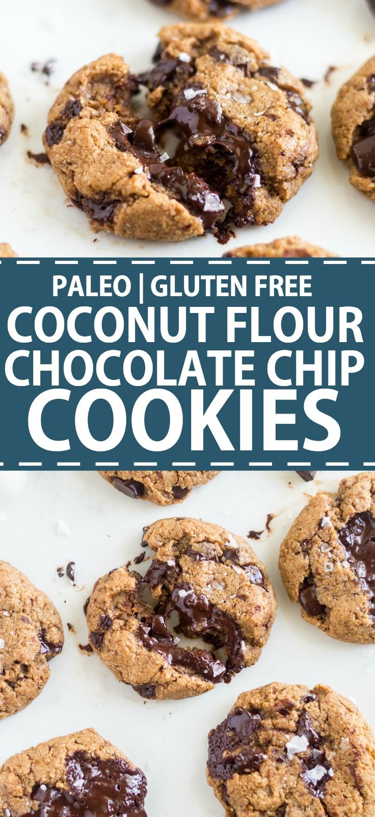 Photo of Coconut Flour Chocolate Chip Cookies [Keto] | What Moll