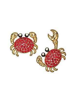 d4d60e3518db8 Kate Spade New York Shore Thing Pavé Crab Studs   Jewelry   Kate ...