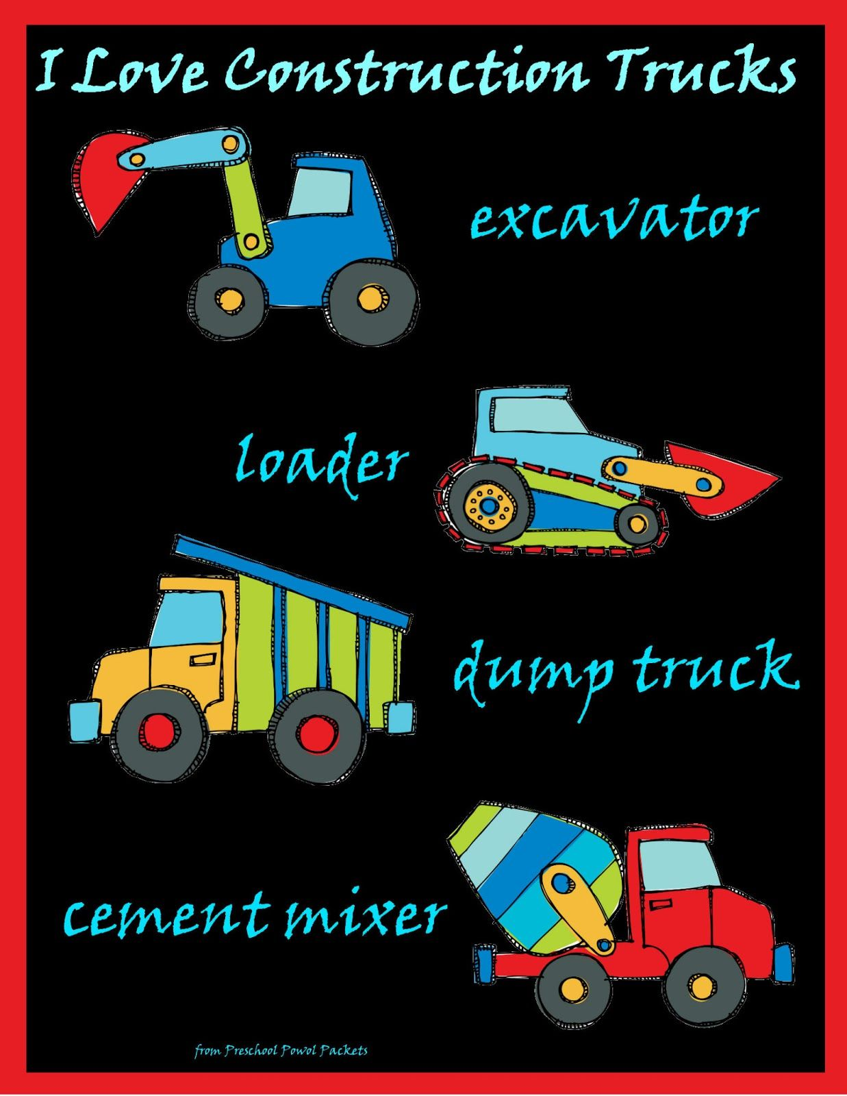 Construction Truck Names