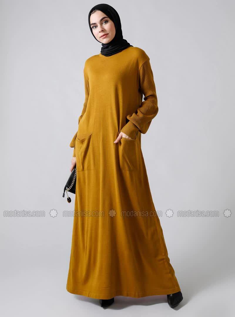 Modanisa 2020 Trkio Tesettur Elbise Modelleri 1 5 Yeni Sezon Triko Elbise Modelleri Elbise Modelleri Elbise Moda Stilleri