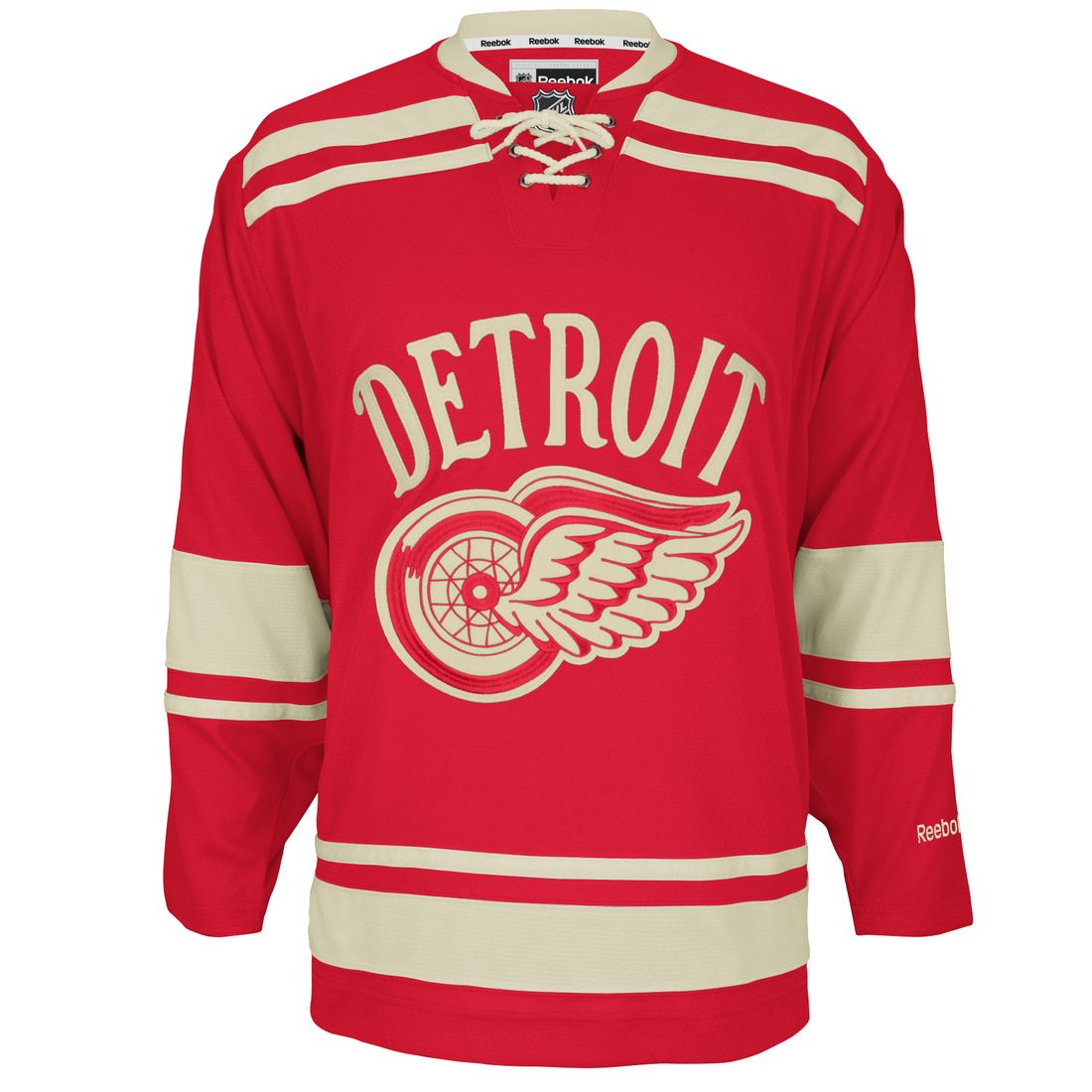 timeless design f2fd1 6f873 Detroit Red Wings 2014 Winter Classic jersey. | Sports Logos ...