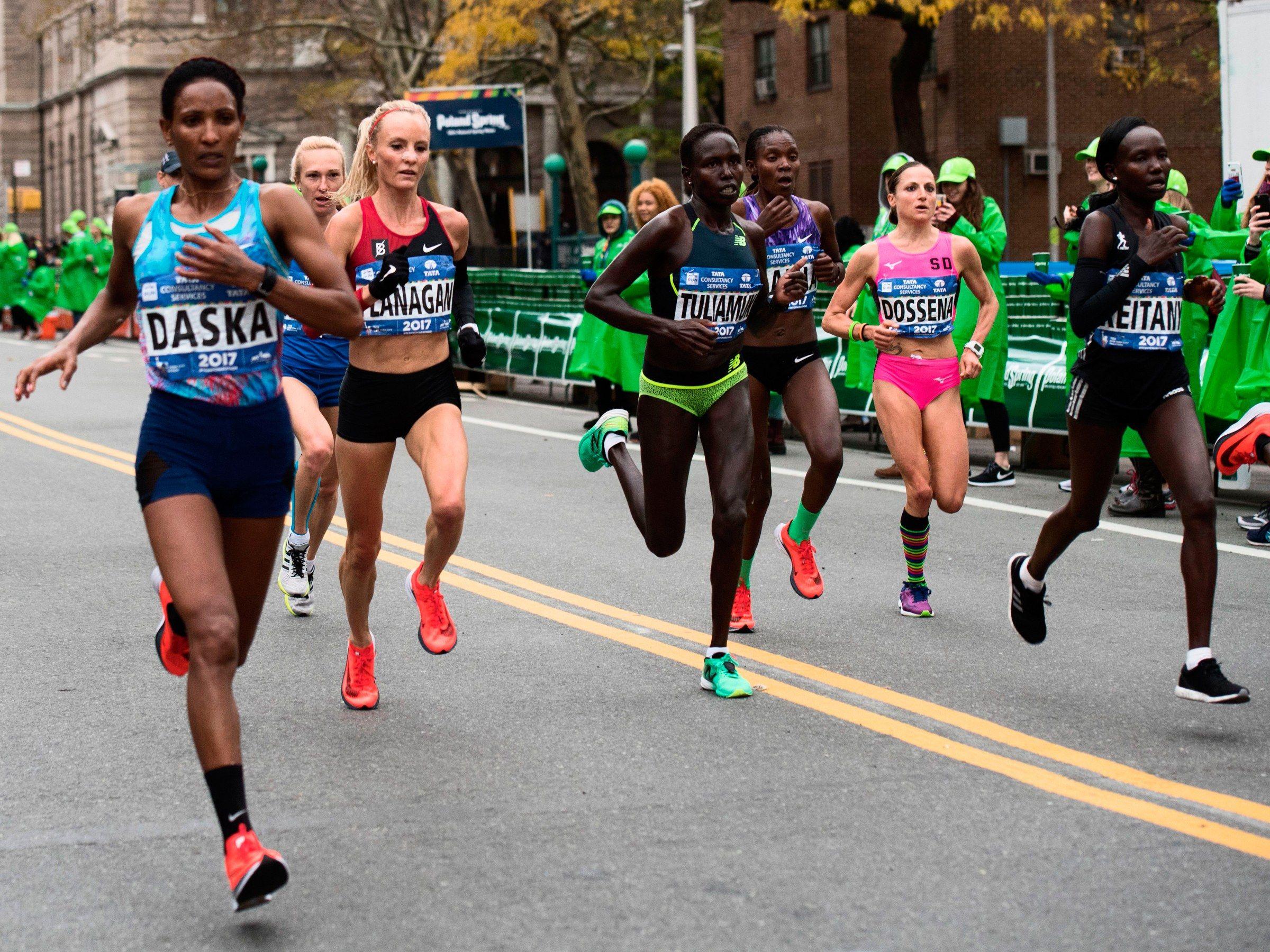 Do nikes new marathon shoes actually make you run faster