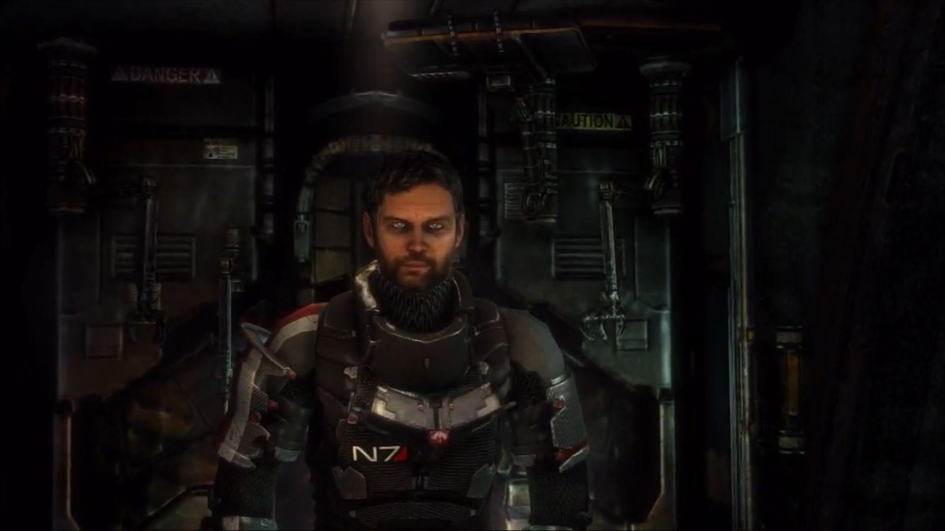 Dead Space Mass Effect N Armor Hd Desktop Wallpaper Wallpapers 4k