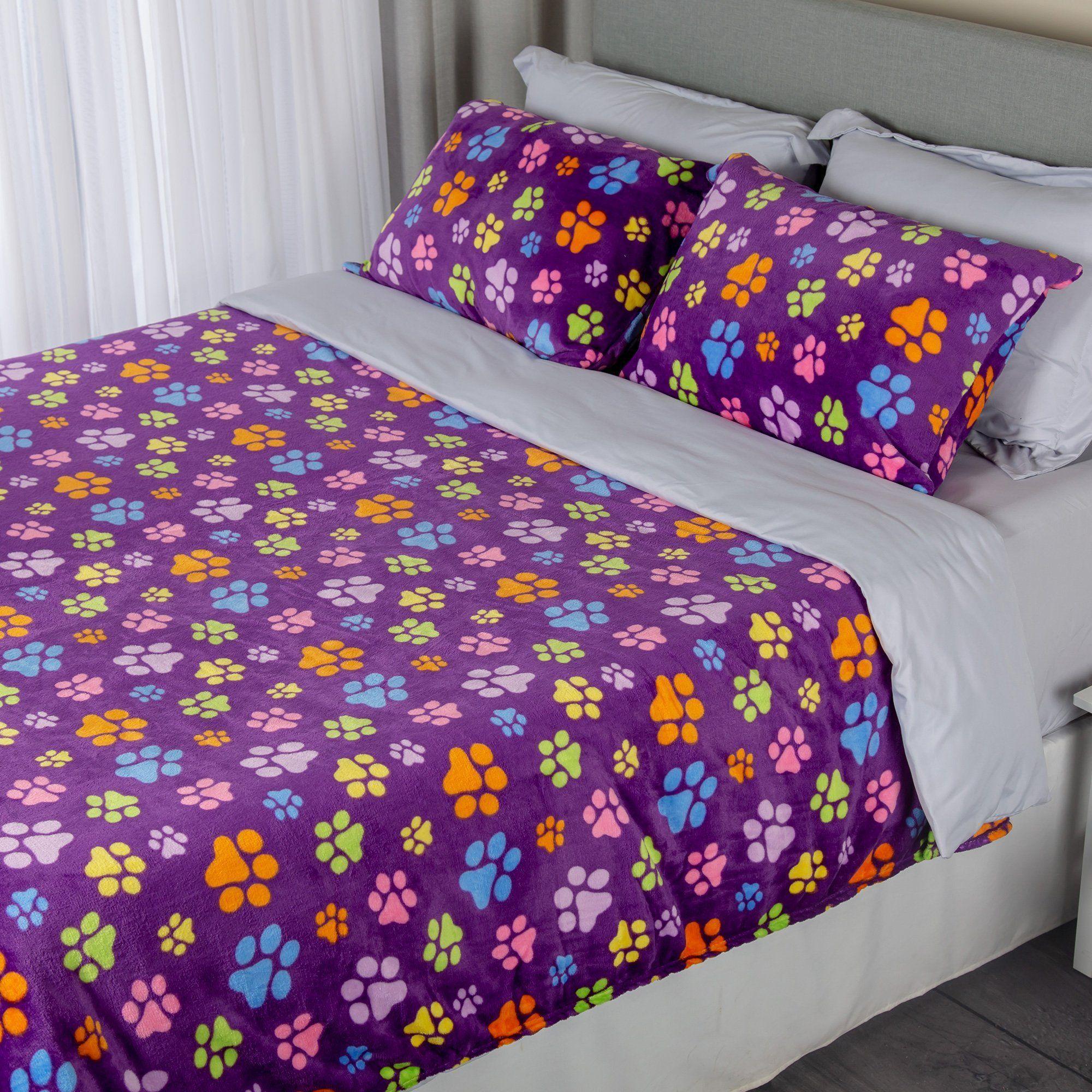 Super Cozy™ Fleece Paw Bedding Dog home decor, Animal