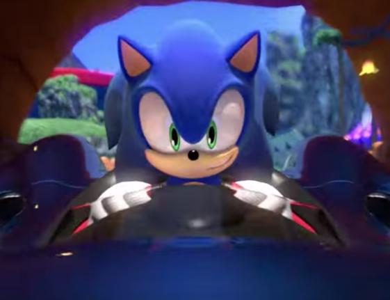Gear Up Team Sonic Racing Sonic Sonic Art Hedgehog Movie