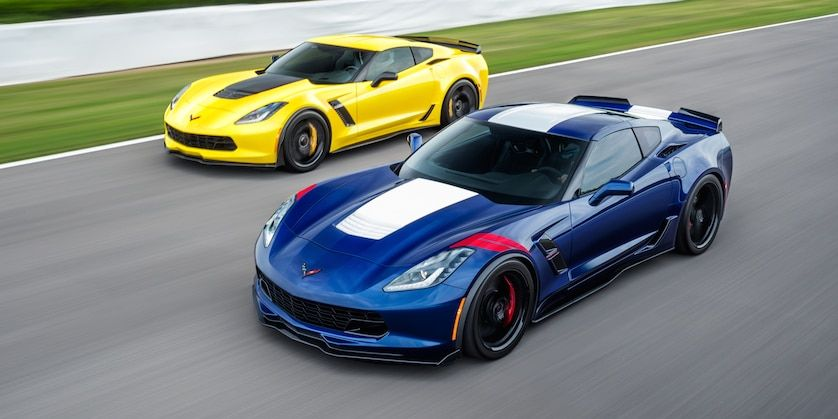 2019 Corvette Grand Sport Exterior Photo racing 1