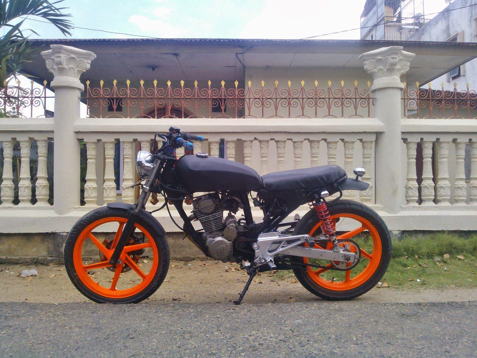 Modifikasi Honda Tiger Jap Style Velg Bintang