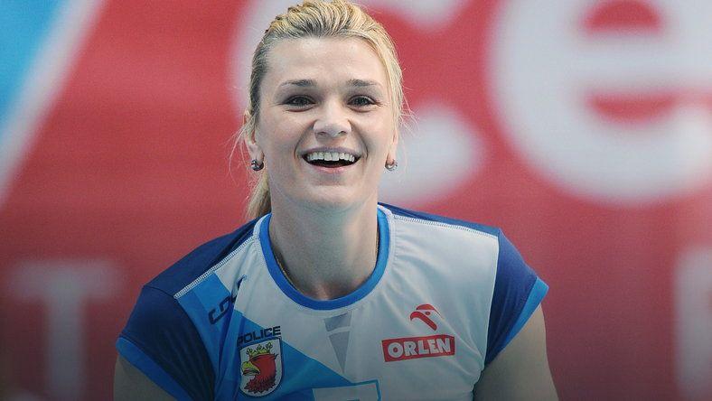 Małgorzata Glinka-Mogentale - najlepsza siatkarka Europy, gwiazda lig w Polsce, Włoszech i Turcji.