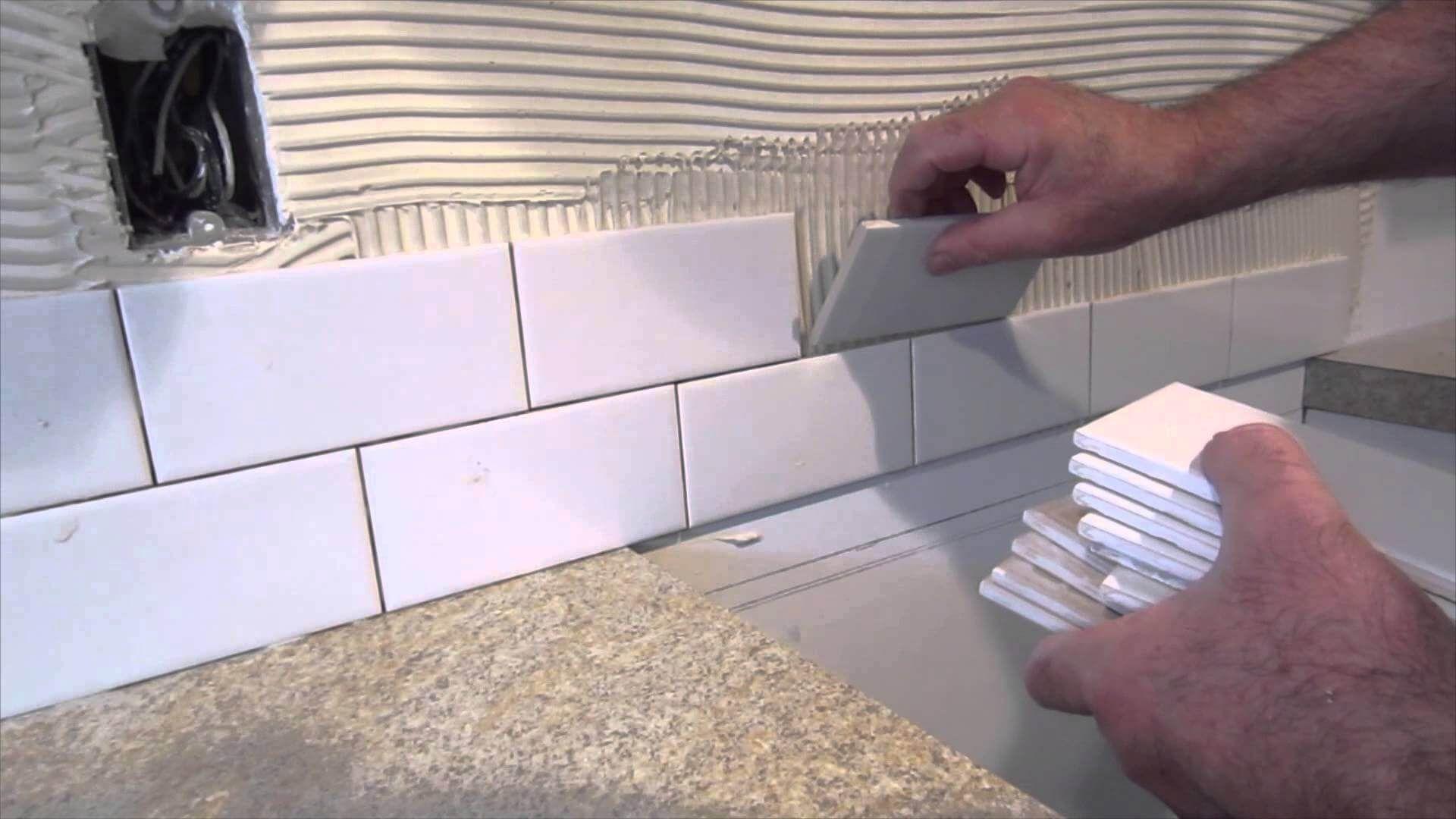 Subway Tile Backsplash Installation Tips Diy backsplash