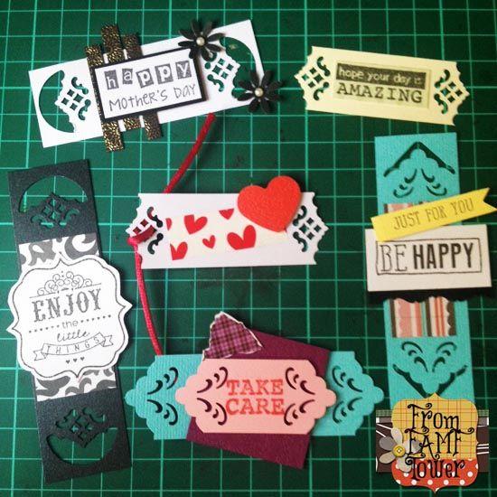 Tutorial Kraf Kertas Hiasan Kraf Menggunakan Corner Punch From Famf Tower Paper Craft Projects Paper Crafts Greeting Cards Handmade