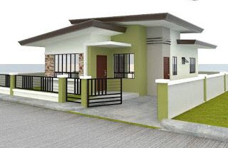 100 Images Of Affordable And Beautiful Small House Small House Design Bungalow House Design Simple Bungalow House Designs