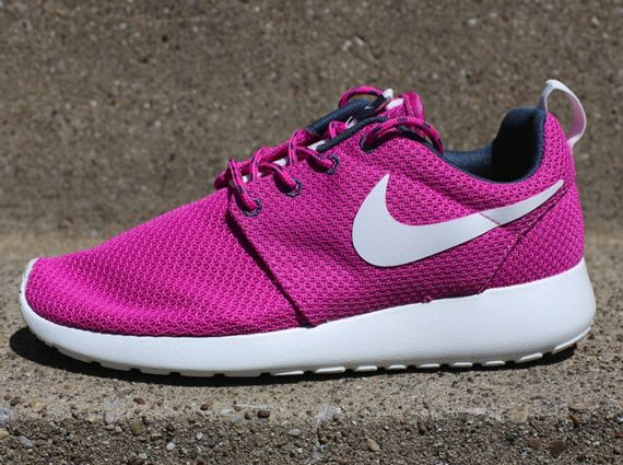 save off c5f4b 48365  esty Shop Discount Shoes Nike Women Roshe One CLUB PINK ARMORY BLUE Club  Pink Summit White Dark Armory Blue 511882 605