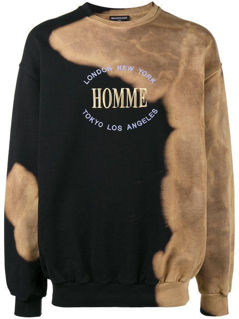 code promo d9b66 e06b7 BALENCIAGA Oversized Homme sweatshirt. #balenciaga #cloth ...