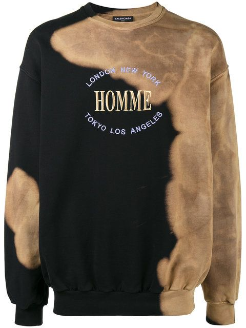 381c074700b1c0 BALENCIAGA Oversized Homme sweatshirt. #balenciaga #cloth ...