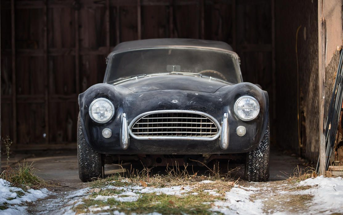 Barn-found 1964 Shelby 289 at Gooding & Co. Auctions